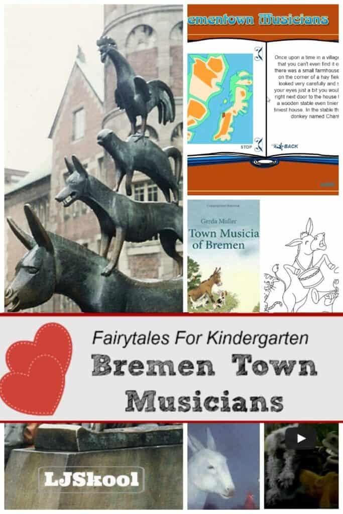 Bremen Town Musicians Pin