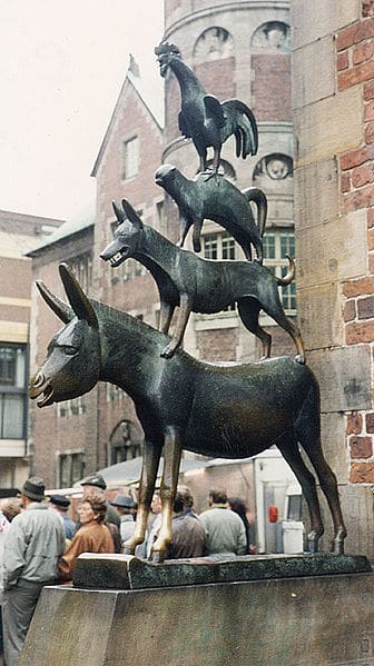Bremen Town Musicians statue