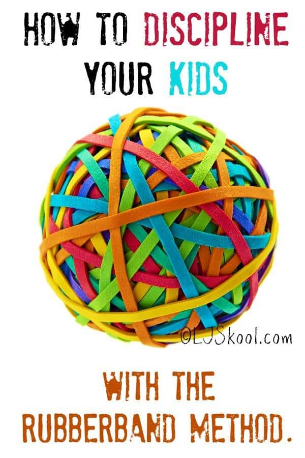 How to discipline your kids with the rubberband method