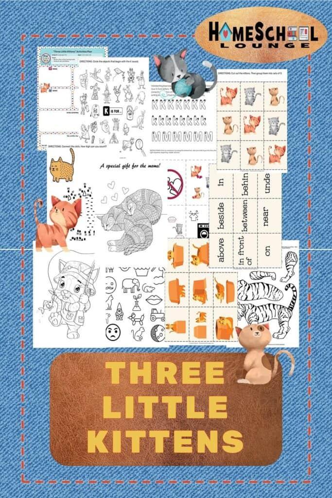 Three Little Kittens 1000X1500
